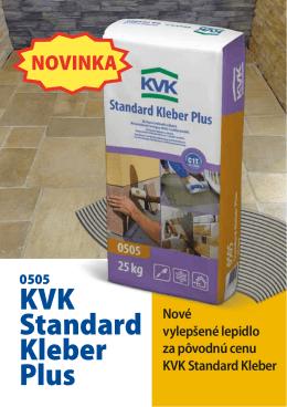 KVK Standard Kleber Plus - Krkonošské vápenky Kunčice