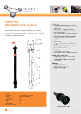 Patent Plus teleskopická zemní souprava