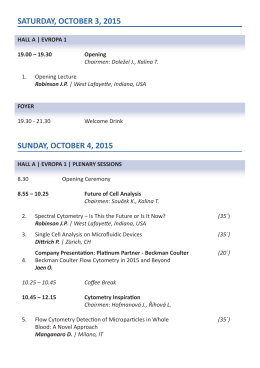 podrobný program konference | pdf