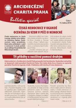01bulletin2016 TISK.indd - Arcidiecézní charita Praha