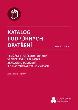 3 - Katalog podpůrných opatření - Univerzita Palackého v Olomouci