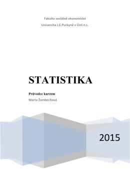 2015 STATISTIKA