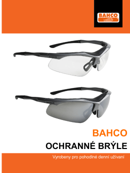 bahco ochranné brýle