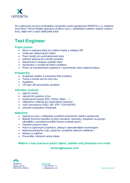 Test Engineer