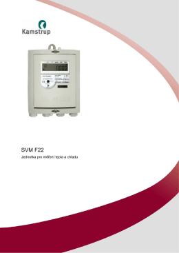 F22 vyhodnocovací jednotka pro měřiče tepla