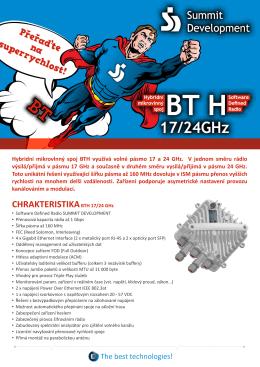CHRAKTERISTIKABTH 17/24 GHz