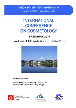 international conference on cosmetology
