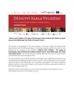 Exhibition ˝Dědictví Karla Velikého