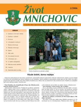 Život Mnichovic è. 3