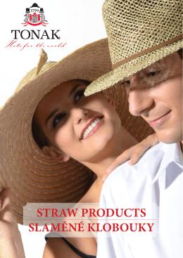 katalog Slaměné klobouky 2015