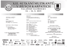Program SMBK 2015