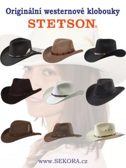 Westernové klobouky Stetson