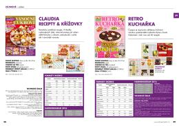 Ceník inzerce v časopisu
