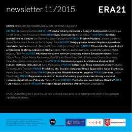 newsletter 11/2015
