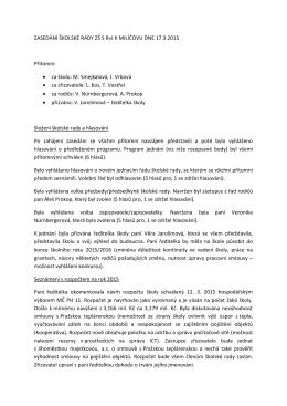 Zápis školské rady (130kB PDF)