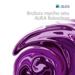 Brožura mycího setu AURA Roboclean