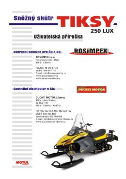 250 LUX - ROSIMPEX SLOVAKIA, sro