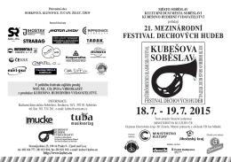 letak 2015-cb:letak 2013.qxd - Kubešovo hudební vydavatelství