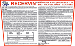 Recervin – PDF, 2 MB