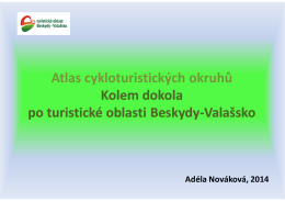 Atlas cykloturistických okruhů Kolem dokola po turistické oblasti
