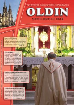 ročník 25 • červen 2015 • číslo 6 olomoucký arcidiecézní informátor