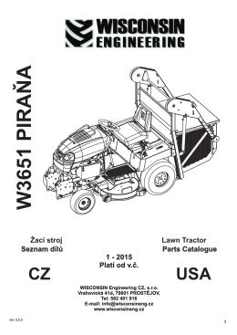 katalog náhradních dílů W3651 Piraňa