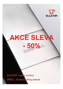 AKCE SLEVA - 50% - Digestoře SIRIUS