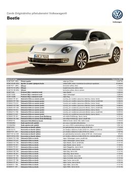 Beetle - Volkswagen