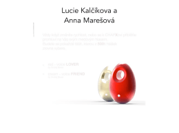 Lucie Kalčíkova a Anna Marešová