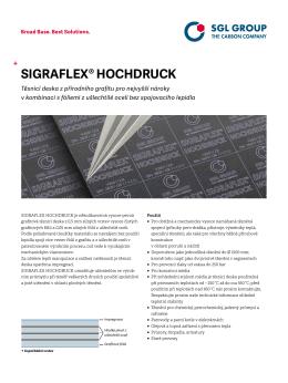 SIGRAFLEX® HOCHDRUCK