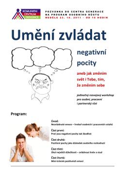 negativní pocity