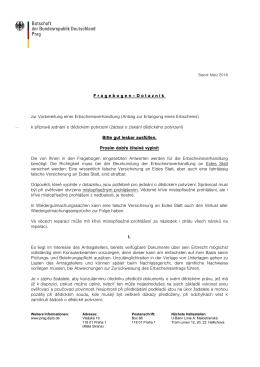 Erbschaft/Dědictví - Fragebogen/Dotazník (DEU/CZE)
