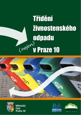 Třídění živnostenského odpadu v Praze 10