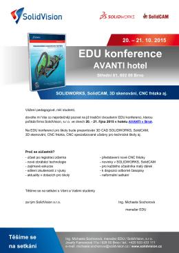 EDU konference pro školy