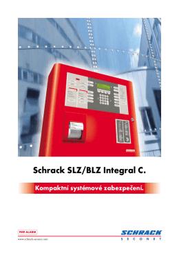 Schrack SLZ/BLZ Integral C. - Profesionální protipožární systémy