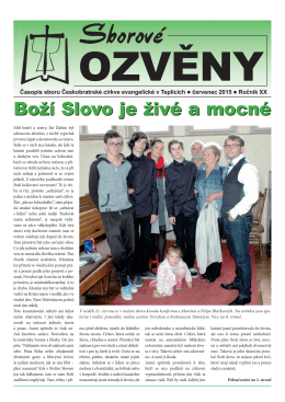 Červenec 2015  - Teplice