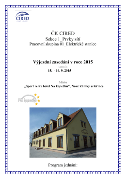 souboru - ČK CIRED