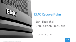 11 EMC - RecoverPoint