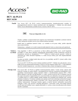 HCV Ab PLUS - Bio-Rad