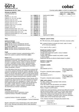 γ-Glutamyltransferase ver.2 Standardizováno dle IFCC / Szasz