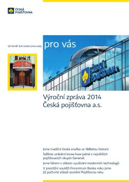 Sestava 1 - Česká pojišťovna
