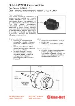 Sensepoint Combustible Gas Sensor - GAS