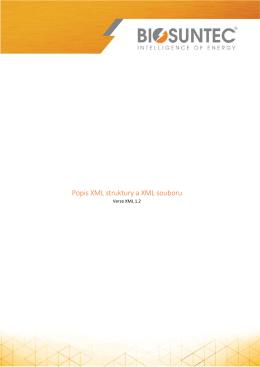 souboru XML - SOLAR GATE B2B
