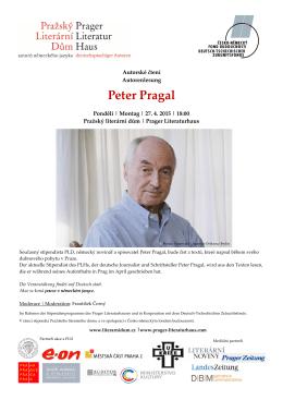 Peter Pragal - Prager Literaturhaus