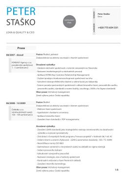 staško - Hodinovy manager