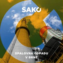 Brožura Spalovna - SAKO Brno, a.s.
