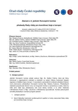 Záznam z 2. jednání Koncepční komise_22.5.2015