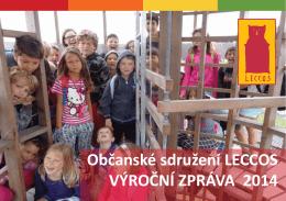 Občanské sdružení LECCOS VÝROČNÍ ZPRÁVA 2014