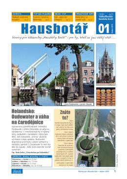 hausbotář 1 - Hausbóty Bockl