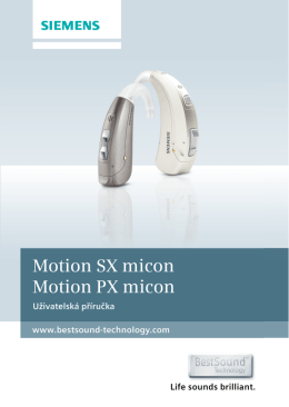 Motion SX micon Motion PX micon